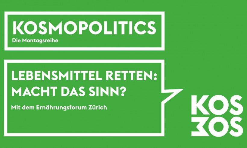 "Podiumsdiskussion ""Kosmopolitics"""